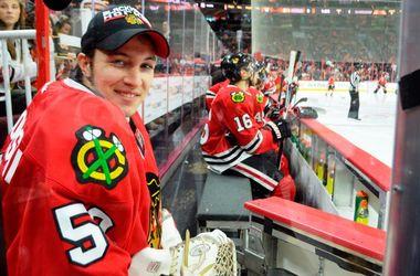 """Фанат """"Филадельфии"""" был запасным вратарем """"Чикаго"""" в их матче в НХЛ"""