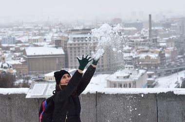В Украину пришла неделя снега и морозов