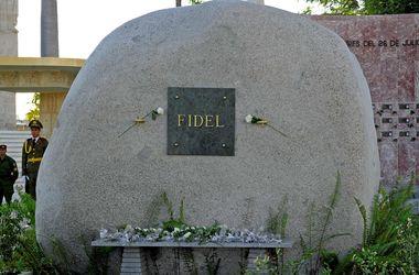 На Кубе открыли доступ к могиле Фиделя Кастро