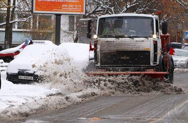Сегодня в Киеве ожидаются снег и гололедица