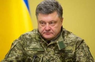 Порошенко и Полторак отправились на Донбасс
