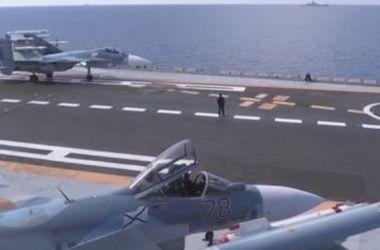"""В Минобороны РФ объяснили, почему рухнул Су-33 на """"Адмирале Кузнецове"""""""