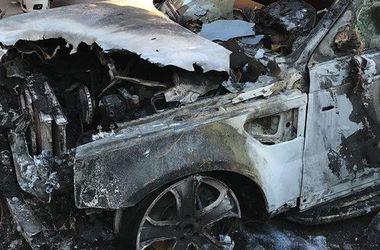 В Одессе сожгли Range Rover депутата