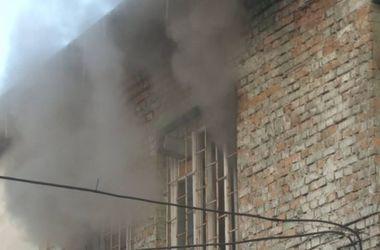 Во Львове произошел пожар в художественной мастерской