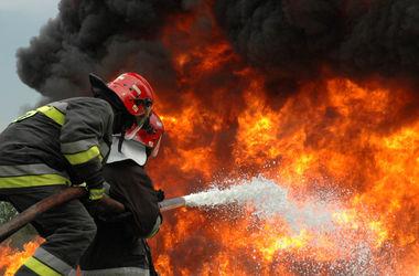 В пожаре под Киевом погибли два человека