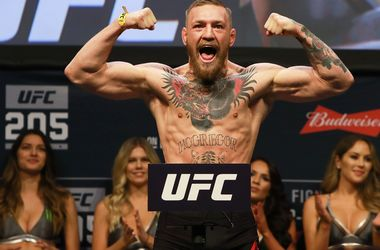 Kämpfer Conor McGregor wird in