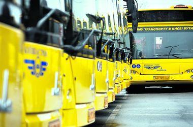 I Kiev grund af de messer, som vil ændre ruter af busser