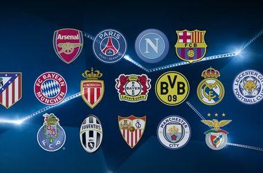 Стали известны все участники 1/8 финала Лиги чемпионов