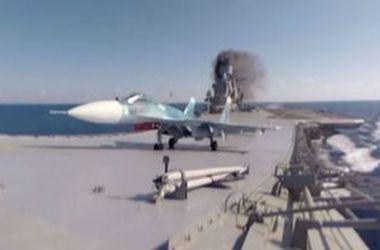 """Названа возможная причина аварии истребителя с """"Адмирала Кузнецова"""""""