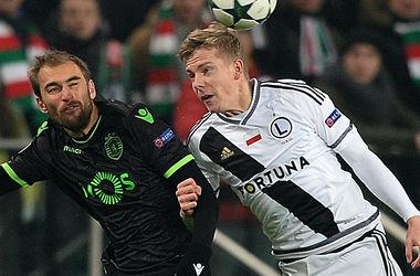 Revoir le match Legia - Sporting - 1:0