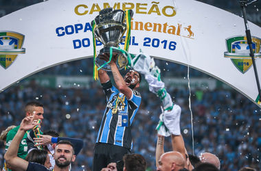 Gremio for the fifth time in its history won the Cup of Brazil