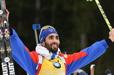 Мартен Фуркад выиграл гонку преследования на Кубке мира