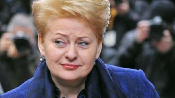 Литва готова поделиться с государством Украина опытом вборьбе скоррупцией— Грибаускайте