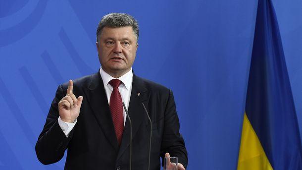 Порошенко: Украинский производитель могбы заходить нарынкиЕС через Литву