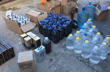 Под Киевом поймали торговца суррогатным алкоголем