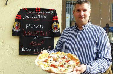 В честь футболиста Марио Балотелли назвали пиццу