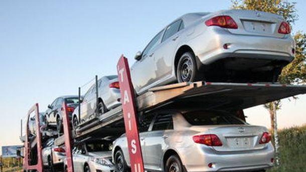 Минэкономики предлагает увеличить пошлину наимпорт легковых машин изЕС