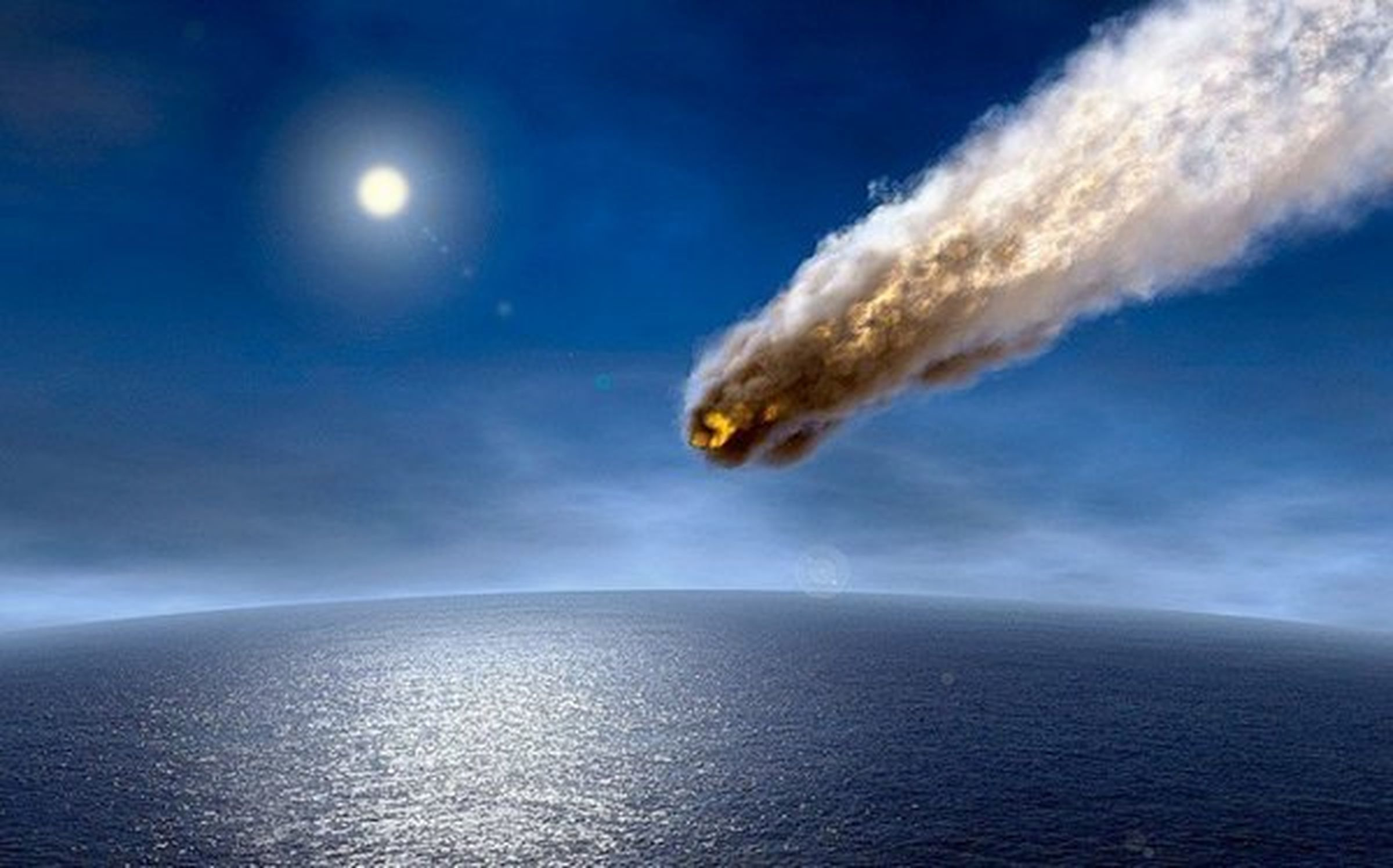 Падение большого астероида вокеан неопасно для людей— Учение