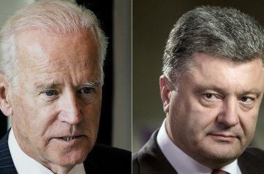 Порошенко созвонился с вице-президентом США