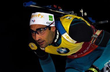 Мартен Фуркад выиграл гонку преследования Кубка мира