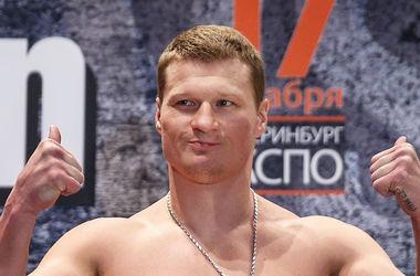 Александр Поветкин нокаутировал подставного боксера
