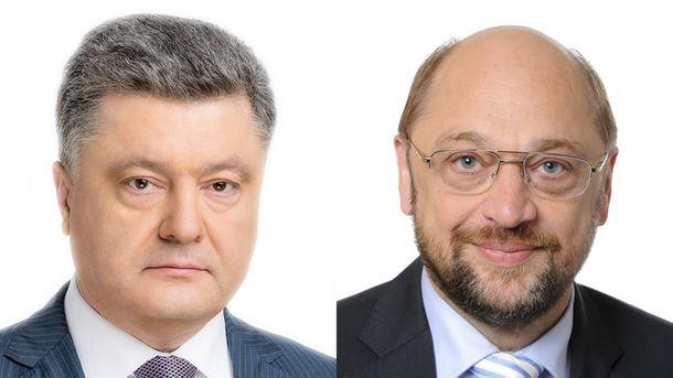 Шульц: Европарламент готов закончить все процедуры для введения «безвиза» с Украинским государством
