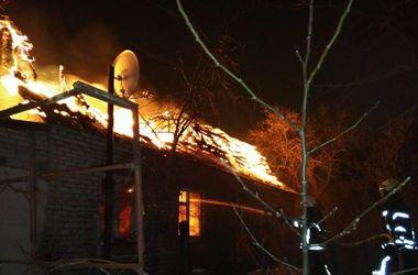 Под Киевом сгорел дом, погиб мужчина
