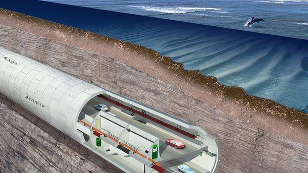 ВСтамбуле под проливом Босфор открылся автомобильный тоннель «Евразия»