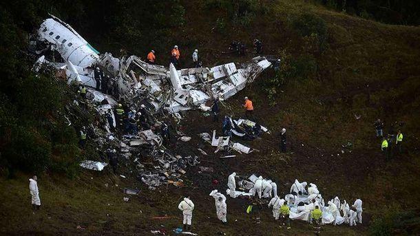 Виновными вкрушении самолета с«Шапекоэнсе» признали пилота иавиакомпанию