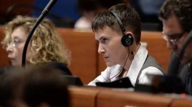 Рада завтра рассмотрит вопрос пребывания Савченко всоставе делегации вПАСЕ