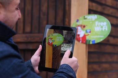 В центре Киева появился бесплатный Wi-Fi