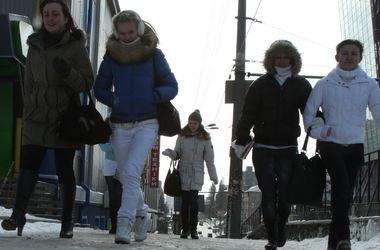 Сегодня в Киеве ожидается переменная облачность и гололедица