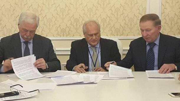 Л.Кучма вылетел вМинск на совещание контактной группы