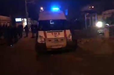 Столкновения в центре Киева: неизвестные устроили погромы МАФов