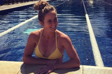 Лучшая теннисистка Украины Свитолина восхитила поклонников желтым платьем (фото)