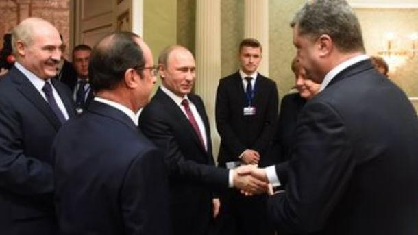 Путин: «Нормандский формат» поУкраине работает вяло