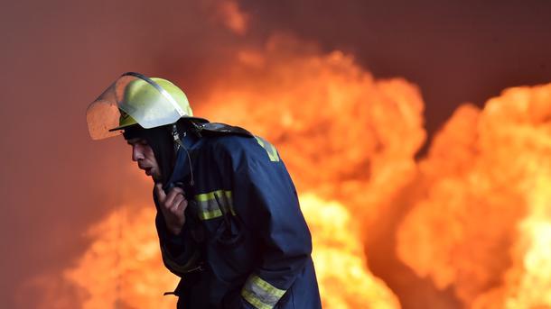 Наместе сегодняшнего пожара вОдессе найден труп неизвестного