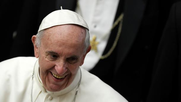 Папа римский отправит наРождество жителям Украины €6 млн