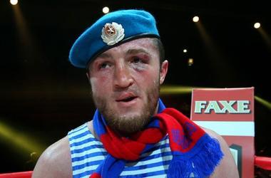 Die Boxer bitten wegnehmen Denis Lebedev-WM-Gürtel