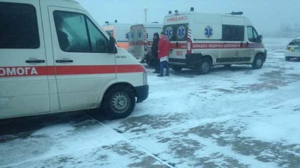 Самолет сранеными под Светлодарском солдатами недолетел доОдесского госпиталя