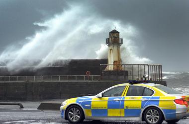 На Шотландию обрушился мощный ураган