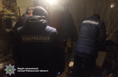 Жители Ровно распространяли в интернете детское порно