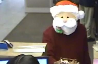 В США Санта-Клаус ограбил банк