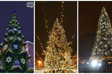 ТОП-10 главных новогодних елок Украины