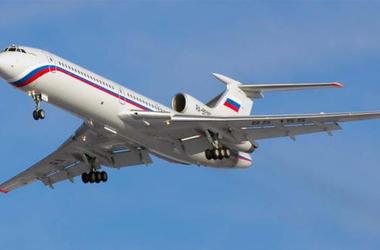 Появился спутниковый снимок места крушения Ту-154