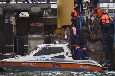 На месте крушения Ту-154 найдено тело пилота