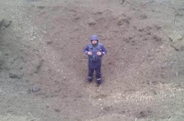 В Черкасской области нашли 500-килограмовую авиабомбу времен Второй мировой