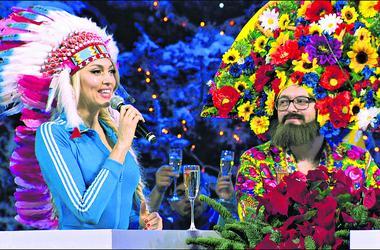 """Новый год в Одессе: """"главная блондинка"""" страны, глинтвейн-фест и оркестр Дедов Морозов"""