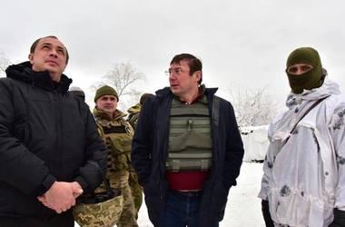 Луценко приехал на Донбасс