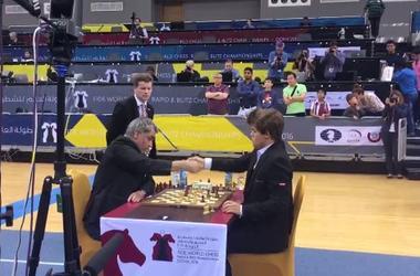 Василий Иванчук обыграл чемпиона мира по шахматам